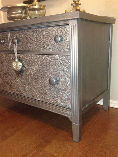 painted furniture hometalk how to remove veneer before and after