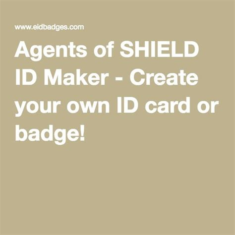 make your own identity card 1000 images about quot marvel s agents of shield quot on
