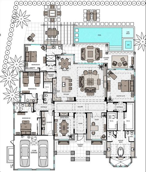 single story floor plans 212 best floor plans images on architecture