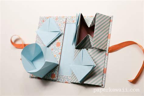 kawaii origami origami thread book tutorial paper kawaii