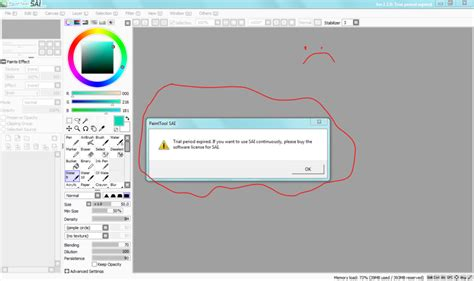 paint tool sai version no trial paint tool sai error by baconstrip103 on deviantart