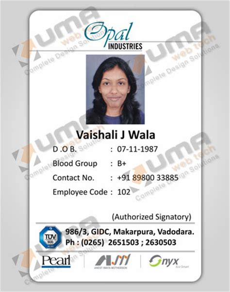 how to make employee id cards optimus 5 search image company identification card