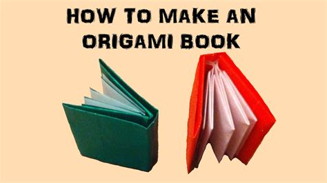 how to make picture book how to make an origami book