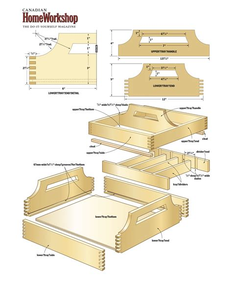 plans woodworking plans pdf diy wooden tray plans bed pattern
