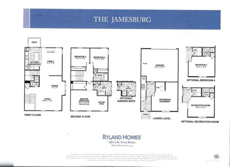 ryland townhomes floor plans ryland townhomes floor plans jamesburg for sale three