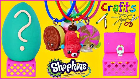 how to make crafts how to make shopkins necklaces shopkin