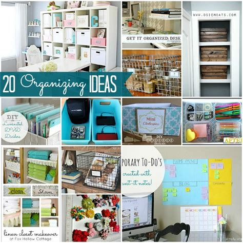 organising ideas great ideas 20 ways to organize your home