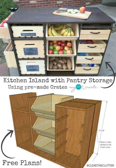 kitchen storage island 17 best ideas about diy kitchen island on