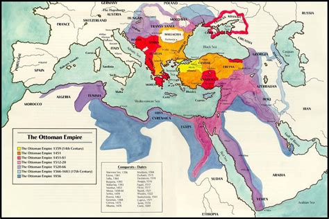 ottoman empire located map of ottoman empire with history facts istanbul