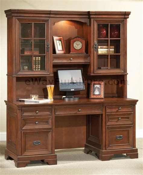 home office furniture sets sale warm cherry executive desk home office collection
