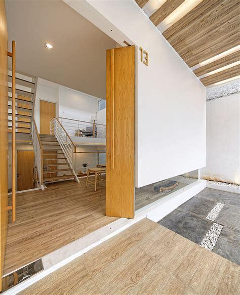 split bedroom design small modern house with split level interior design idea