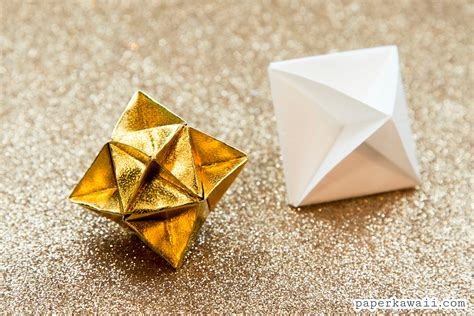 origami you origami cube decoration tutorial paper kawaii