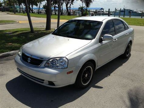 how cars run 2006 suzuki forenza electronic valve timing purchase used 2006 suzuki forenza 4 door automatic sedan 4 cyl 2 0 liter fwd no reserve in