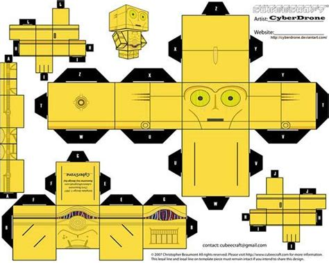 paper craft wars wars custom papercraft templates gadgetsin