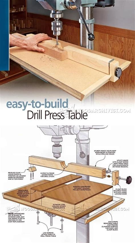 drill press table woodworking plans best 20 drill press table ideas on drill
