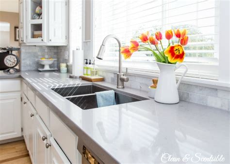 how to clean the kitchen sink organizing the kitchen sink clean and scentsible