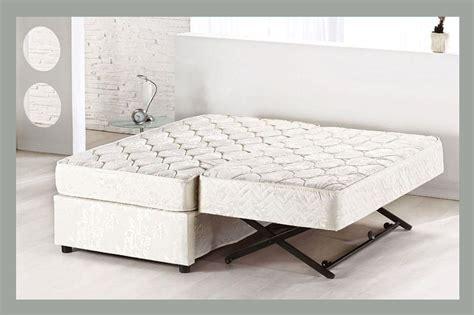 trundle bed frame pop up platform bed with pop up trundle home delightful
