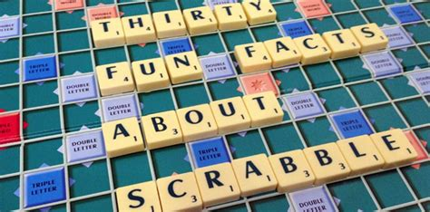 scrabble information thirty facts about scrabble the fact site