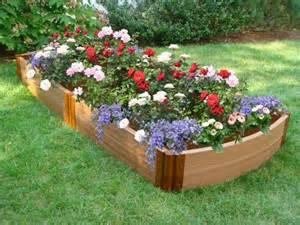 raised flower garden raised flower beds casual cottage