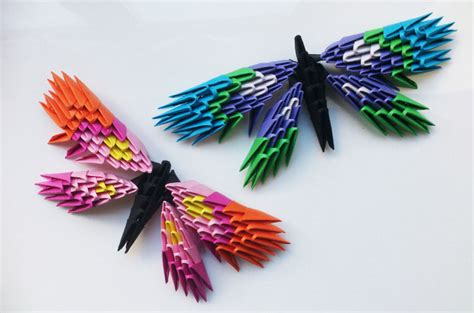 how to make 3d origami butterfly origami butterfly 3d aflowerinjapan