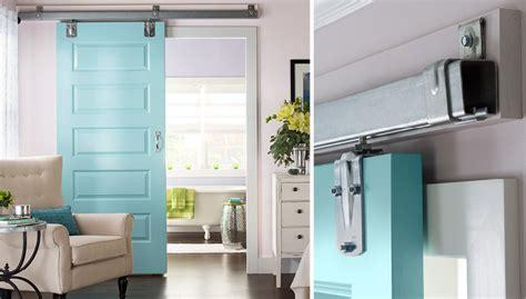interior hanging sliding doors how to hang a sliding door