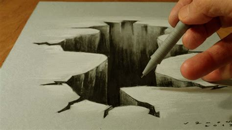 how to draw 3d 3d drawing trick on paper how to draw 3d
