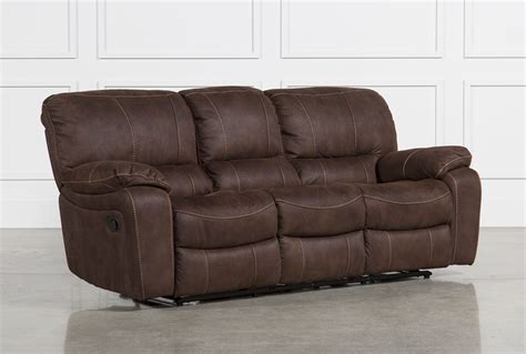reclining sofa with langdon reclining sofa living spaces