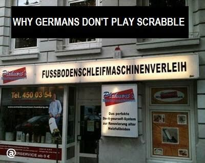 can t play scrabble on why germans don t play scrabble
