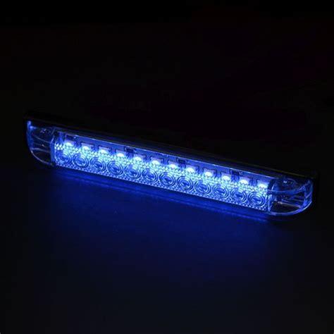 led light strips for boats academy marine led blue utility light