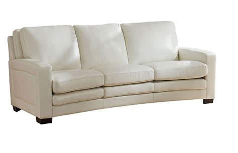 ivory leather sofa joanna top grain ivory white leather sofa