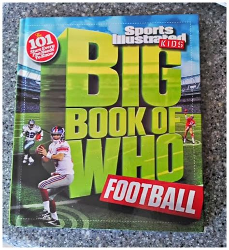 football picture books sports illustrated for football book