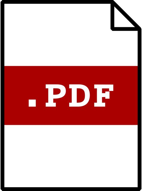pdf in with pictures free pdf clip clipart best
