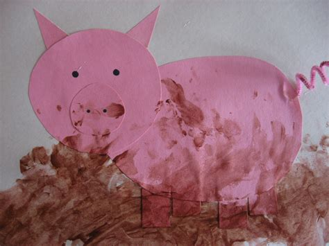 pig craft for kiddie crafts 365 crafts for page 27