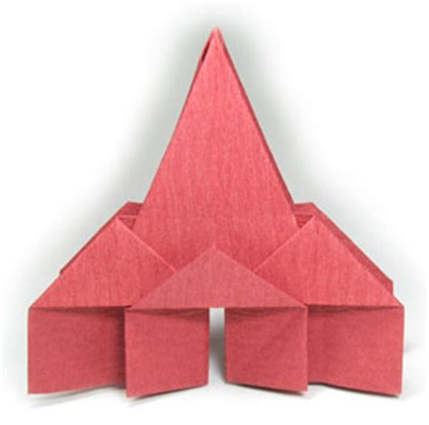 religious origami how to make a new origami church page 1