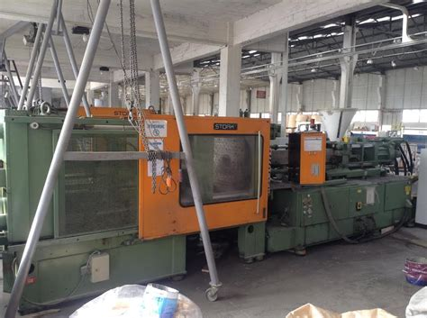 polymer rubber st machine stork st 4000 550 injection moulding machine exapro