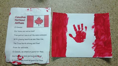 canada day crafts for a and easy canada day craft canadian