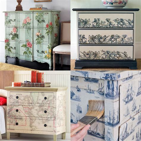 decoupage furniture ideas mod podge furniture decoupaged on decoupage