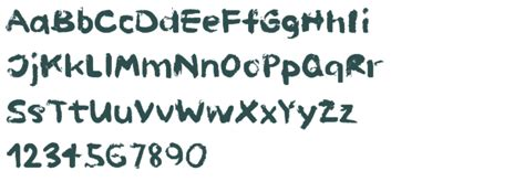 paint font painted fonts pictures to pin on pinsdaddy
