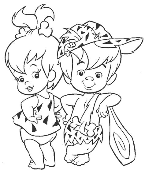 coloring picture of book flintstones coloring book coloring home