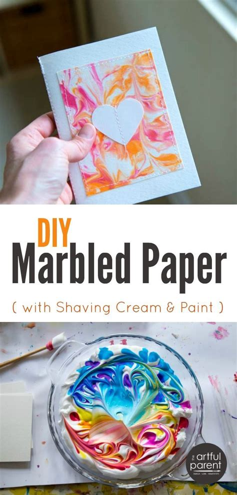 marbled paper craft diy marbled paper the best easiest cheapest method