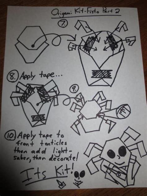 how to make origami kit fisto quavondo origami yoda comot