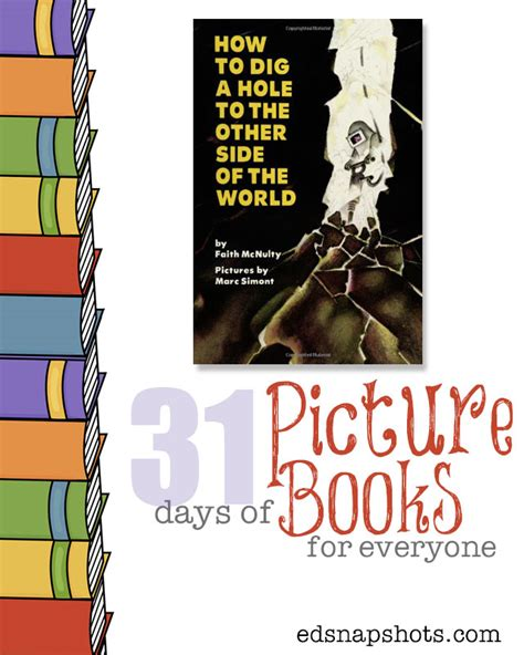 the other side picture book how to dig a to the other side of the world