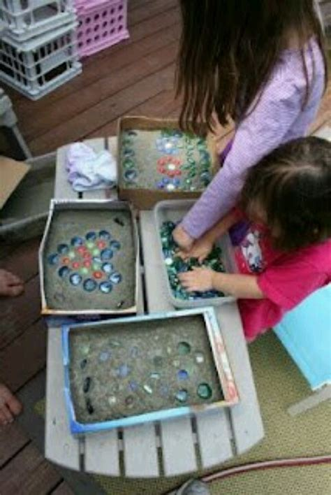 stepping craft for diy stepping stones garden