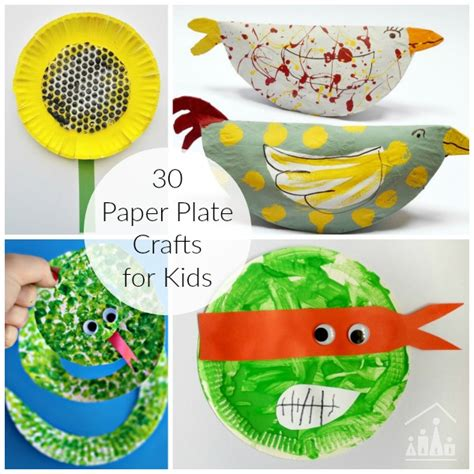 awesome crafts for 30 awesome paper plate crafts crafty at home