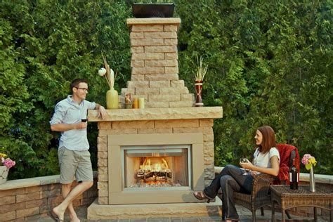 outdoor fireplace kit a guide to shopping for outdoor fireplace kits