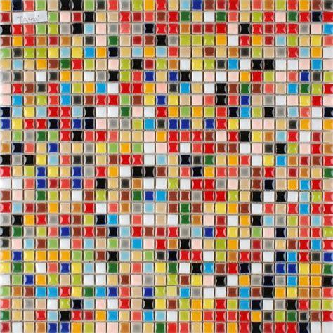 Ceramic Tile Murals For Kitchen Backsplash multi color porcelain tile kitchen floor small chips