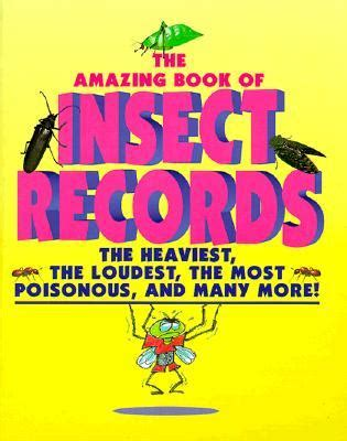 amazing picture books animal records amazing book of insect records by samuel