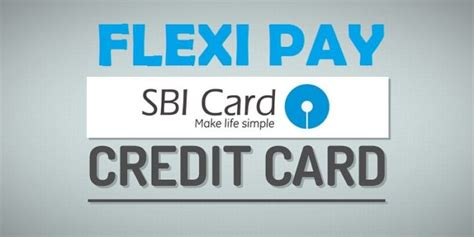 make sbi credit card payment how to book flexipay in sbi credit card sms call