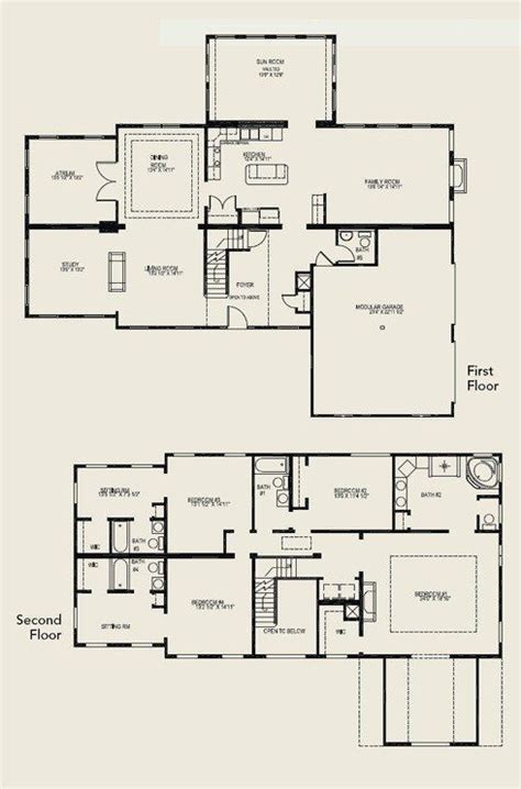 house plans with 4 bedrooms beautiful 4 bedroom 2 storey house plans new home plans design