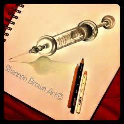vintage syringe sketch jawn pinterest piercings and